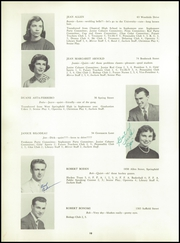 Page 16, 1958 Edition, Agawam High School - Sachem Yearbook (Agawam, MA) online yearbook collection