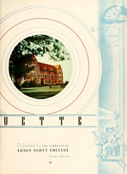Agnes Scott College - Silhouette Yearbook (Decatur, GA) online yearbook collection, 1939 Edition, Page 7