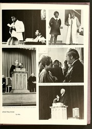Page 11, 1971 Edition, Agnes Scott College - Silhouette Yearbook (Decatur, GA) online yearbook collection