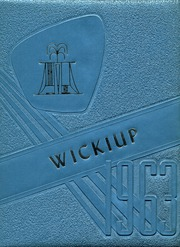 Agua Fria Union High School - Wickiup Yearbook (Avondale, AZ) online yearbook collection, 1963 Edition, Cover