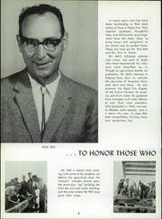 Page 8, 1963 Edition, Agua Fria Union High School - Wickiup Yearbook (Avondale, AZ) online yearbook collection