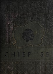 Ahoskie High School - Chief Yearbook (Ahoskie, NC) online yearbook collection, 1955 Edition, Cover