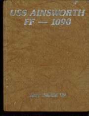 Ainsworth (FF 1090) - Naval Cruise Book online yearbook collection, 1990 Edition, Cover