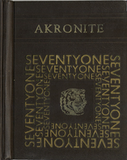 Akron Central School - Akronite Yearbook (Akron, NY) online yearbook collection, 1971 Edition, Cover