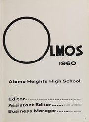 Page 7, 1960 Edition, Alamo Heights High School - Olmos Yearbook (San Antonio, TX) online yearbook collection