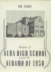 Page 7, 1950 Edition, Alba High School - Albamo Yearbook (Alba, MO) online yearbook collection