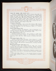 Page 14, 1924 Edition, Albany College of Pharmacy - Alembic Yearbook (Albany, NY) online yearbook collection