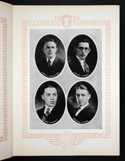 Page 17, 1924 Edition, Albany College of Pharmacy - Alembic Yearbook (Albany, NY) online yearbook collection