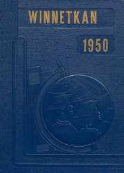 Albany High School - Comet / Winnetkan Yearbook (Albany, WI) online yearbook collection, 1950 Edition, Cover
