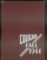 Albany High School - Cougar Yearbook (Albany, CA) online yearbook collection, 1944 Edition, Cover