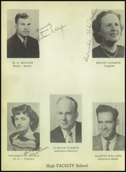 Page 10, 1949 Edition, Albany High School - Lion Yearbook (Albany, TX) online yearbook collection