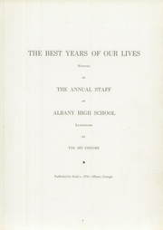 Page 11, 1950 Edition, Albany High School - Thronateeska Yearbook (Albany, GA) online yearbook collection