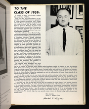 Page 7, 1959 Edition, Albany Medical College - Skull Yearbook (Albany, NY) online yearbook collection