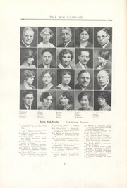 Page 10, 1932 Edition, Albany Union High School - Whirlwind Yearbook (Albany, OR) online yearbook collection