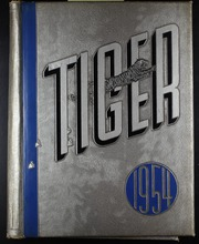 Albert Lea High School - Tiger (Albert Lea, MN) online yearbook collection, 1954 Edition, Cover