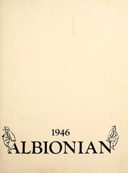 Page 7, 1946 Edition, Albion College - Albionian Yearbook (Albion, MI) online yearbook collection
