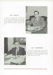 Page 11, 1960 Edition, Albion High School - Chevron Yearbook (Albion, NY) online yearbook collection
