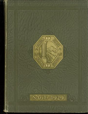 Albion State Normal School - Sage Yearbook (Albion, ID) online yearbook collection, 1929 Edition, Cover