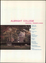 Page 9, 1969 Edition, Albright College - Speculum Yearbook (Reading, PA) online yearbook collection
