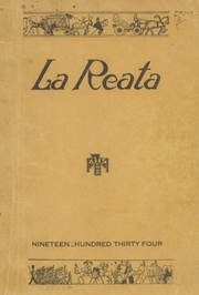 Albuquerque High School - La Reata Yearbook (Albuquerque, NM) online yearbook collection, 1934 Edition, Cover