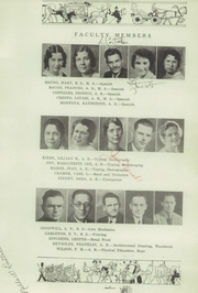 Page 15, 1934 Edition, Albuquerque High School - La Reata Yearbook (Albuquerque, NM) online yearbook collection
