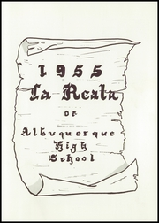Page 7, 1955 Edition, Albuquerque High School - La Reata Yearbook (Albuquerque, NM) online yearbook collection