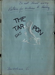Alcee Fortier High School - Tarpon Yearbook (New Orleans, LA) online yearbook collection, 1945 Edition, Cover