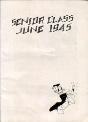 Page 17, 1945 Edition, Alcee Fortier High School - Tarpon Yearbook (New Orleans, LA) online yearbook collection
