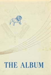 Alden Central High School - Album Yearbook (Alden, NY) online yearbook collection, 1958 Edition, Cover