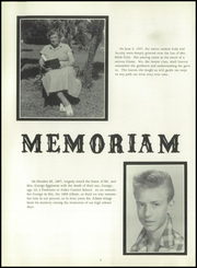 Page 8, 1958 Edition, Alden Central High School - Album Yearbook (Alden, NY) online yearbook collection