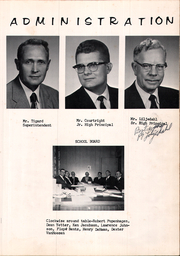 Alden Hebron High School - Heacon Yearbook (Hebron, IL) online yearbook collection, 1962 Edition, Page 5 of 70