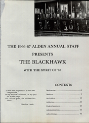 Alden High School - Blackhawk Yearbook (Alden, MN) online yearbook collection, 1967 Edition, Page 5 of 80