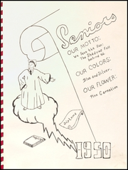 Page 9, 1950 Edition, Alden High School - Redskin Yearbook (Alden, IA) online yearbook collection