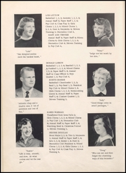 Page 16, 1955 Edition, Alden High School - Redskin Yearbook (Alden, IA) online yearbook collection