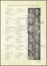 Page 13, 1934 Edition, Aledo High School - Astrum (Aledo, IL) online yearbook collection
