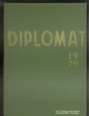 Alexander Hamilton High School - Diplomat Yearbook (Milwaukee, WI) online yearbook collection, 1974 Edition, Cover