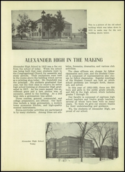 Page 7, 1953 Edition, Alexander High School - Moccasin Yearbook (Nekoosa, WI) online yearbook collection