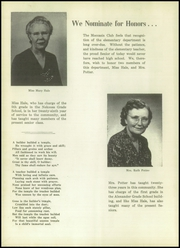 Page 8, 1953 Edition, Alexander High School - Moccasin Yearbook (Nekoosa, WI) online yearbook collection