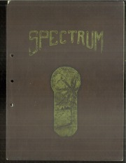 Alexandria Monroe High School - Spectrum Yearbook (Alexandria, IN) online yearbook collection, 1924 Edition, Cover