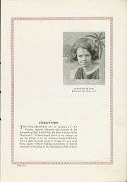 Page 7, 1924 Edition, Alexandria Monroe High School - Spectrum Yearbook (Alexandria, IN) online yearbook collection