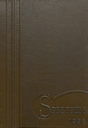 Alexandria Monroe High School - Spectrum Yearbook (Alexandria, IN) online yearbook collection, 1938 Edition, Cover