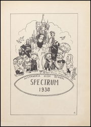 Page 7, 1938 Edition, Alexandria Monroe High School - Spectrum Yearbook (Alexandria, IN) online yearbook collection