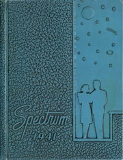 Alexandria Monroe High School - Spectrum Yearbook (Alexandria, IN) online yearbook collection, 1941 Edition, Cover