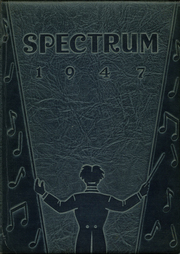 Alexandria Monroe High School - Spectrum Yearbook (Alexandria, IN) online yearbook collection, 1947 Edition, Cover