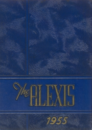 Alexis I DuPont High School - Alexis Yearbook (Wilmington, DE) online yearbook collection, 1955 Edition, Cover