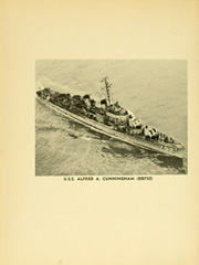 Page 6, 1951 Edition, Alfred A Cunningham (DD 752) - Naval Cruise Book online yearbook collection