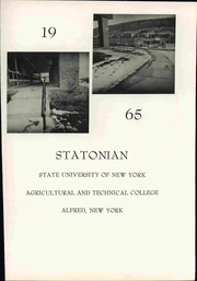 Page 7, 1965 Edition, Alfred State College - Statonian Yearbook (Alfred, NY) online yearbook collection
