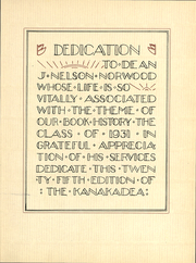 Page 10, 1931 Edition, Alfred University - Kanakadea Yearbook (Alfred, NY) online yearbook collection