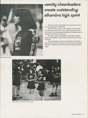 Page 17, 1975 Edition, Alhambra High School - Torch Yearbook (Martinez, CA) online yearbook collection