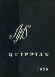 Aliquippa High School - Quippian Yearbook (Aliquippa, PA) online yearbook collection, 1959 Edition, Cover